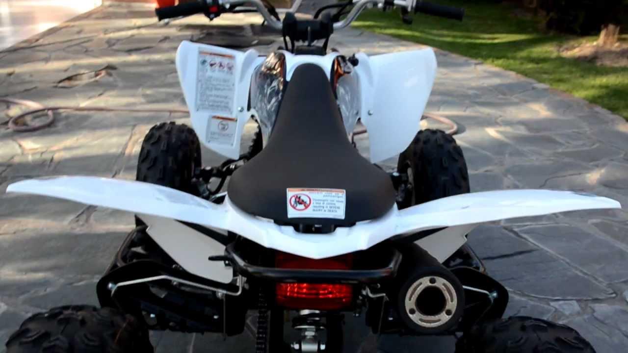 Yamaha raptor 250 2011 walkthrough and start up