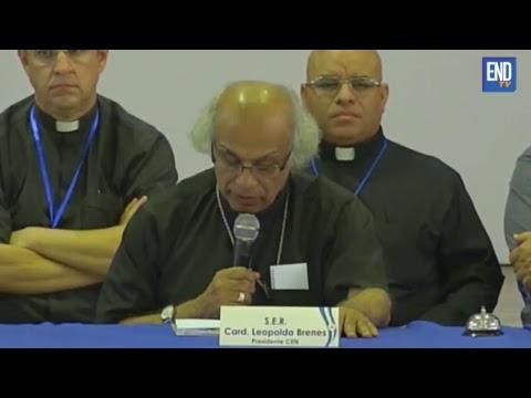 Obispos suspenden diálogo en Nicaragua por falta de consenso