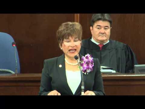 Inaguration 33rd Guam Legislature