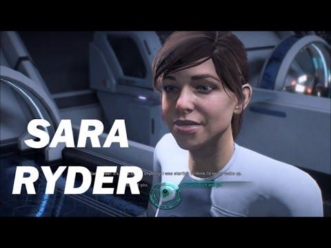 Mass Effect: Andromeda - Sara Ryder Wakes Up (All Dialogue)