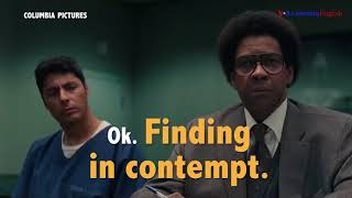 English @ the Movies: 'Hold You In Contempt'