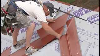 Metal Shake & Slate Roof Installation - Open Valley Application 5 of 6