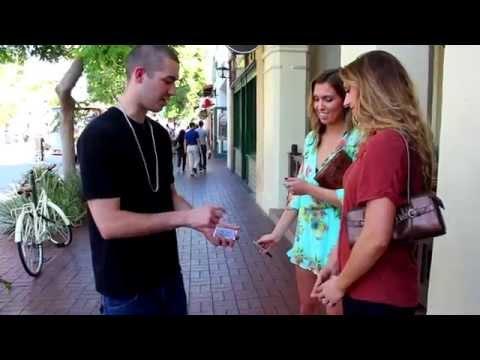 Street Magic With Hot Girls  Beau Matthews