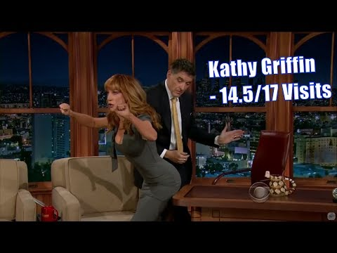 Kathy Griffin  A Female Comedian 14.517 Visits In Chronological Order