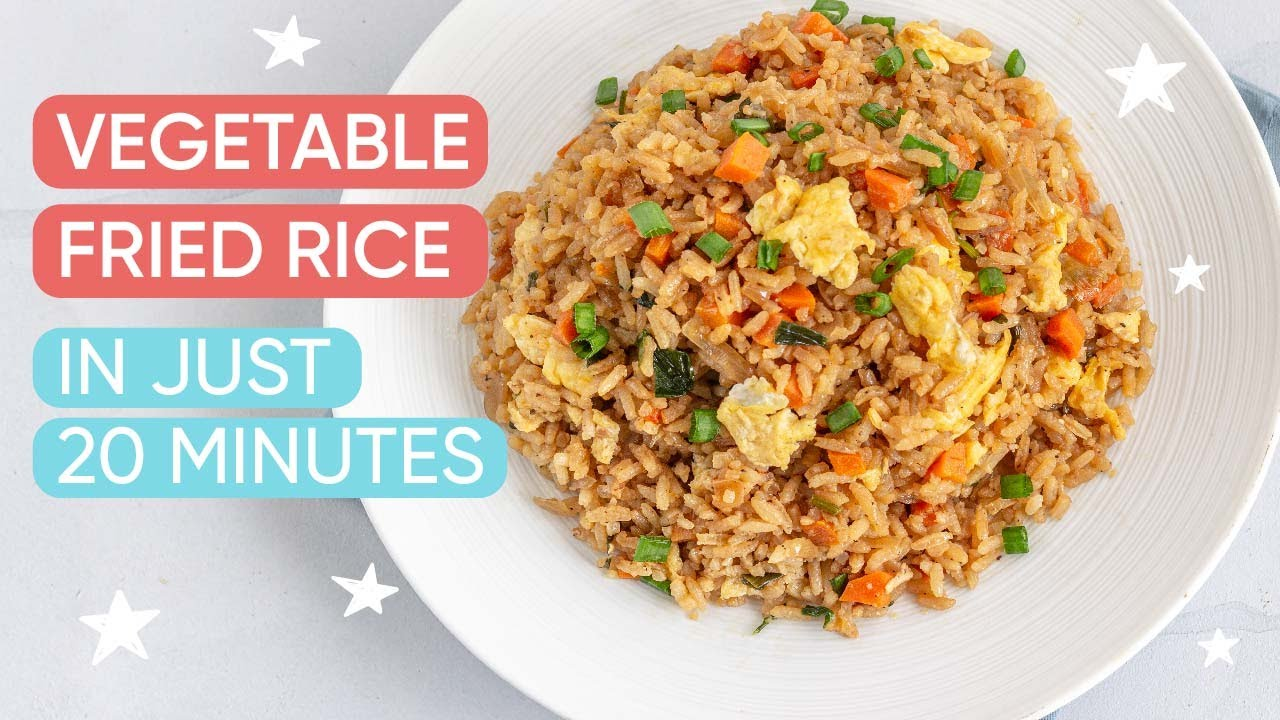 20 Minutes Egg Fried Rice | Channel Mum