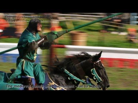Medieval week in Visby - Gorgeous Gotland series
