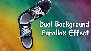 Pure CSS and Dual Parallax Scrolling | No JavaScript | HTML & CSS