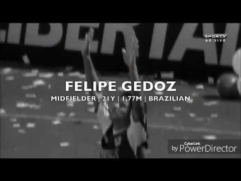 MERCADO DA BOLA Filipe Godez no Santos em 2017.
