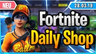 Fortnite Daily Shop *NEW* BASEBALL SKINS IM SHOP (28 March 2019)
