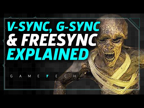 Refresh Rate, V-Sync, G-Sync, and FreeSync: PC Graphics Settings Explained