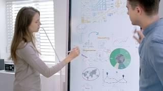 Moderne Meetings neu definiert – Das digitale Flipchart von Samsung