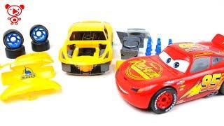 Cars 3 Cruz Ramirez Revell Junior Kit cars for kids - Cars McQueen educational video for children