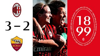 Highlights | AC Milan 3-2 Roma | Matchday 12 Serie A Women 2019/20