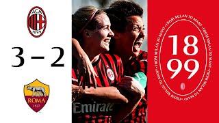 Highlights | AC Milan 3-2 Roma | Matchday 12 Serie A Women 2019/20