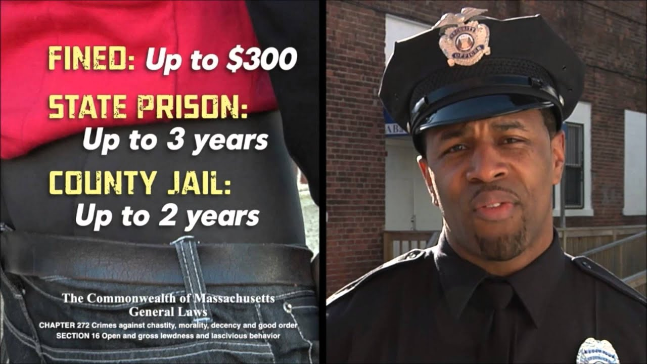 Are You Comfortable With 3-Year Prison Terms for Saggy Pants