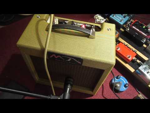 "Fender Tweed Princeton 5F2A circuit Tweed ""Classic 5"" amp"