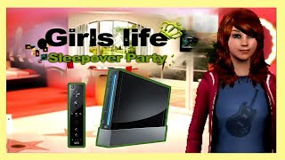 Girl's Life Sleepover Party with Kaynil | Wii