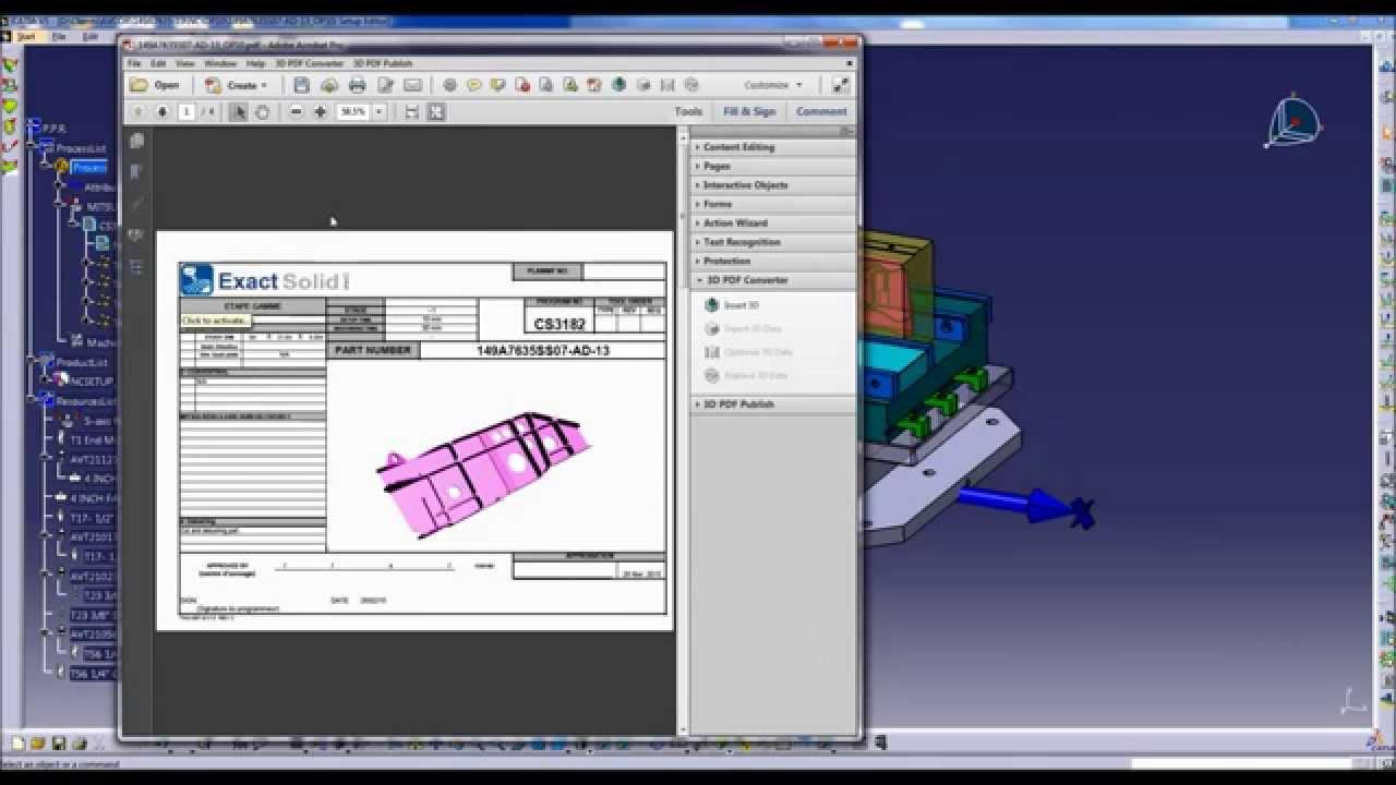 3D PDF ERZEUGEN CATIA PDF