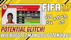 SO BOOSTEST DU DAS POTENZIAL DEINER SPIELER!! ⛔️😱 | FIFA 17 KARRIEREMODUS POTENTIAL GLITCH (DEUTSCH)