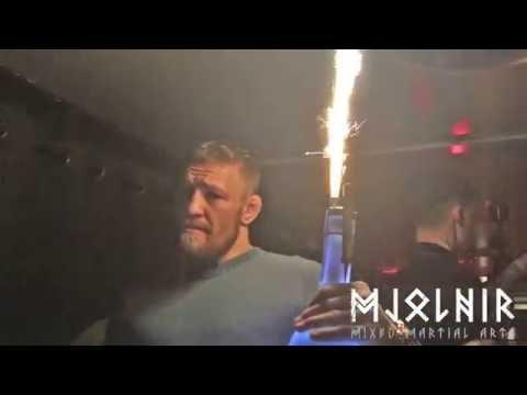 Conor McGregor partying in Iceland with Mjölnir (2016)