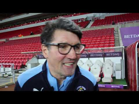 Mick Harford on his side's 1-1 draw at Sunderland