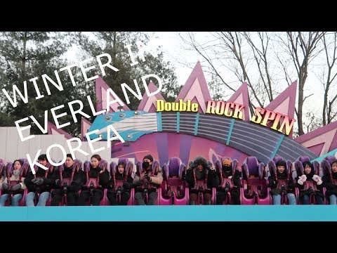 EVERLAND Theme Park - Winter in Korea
