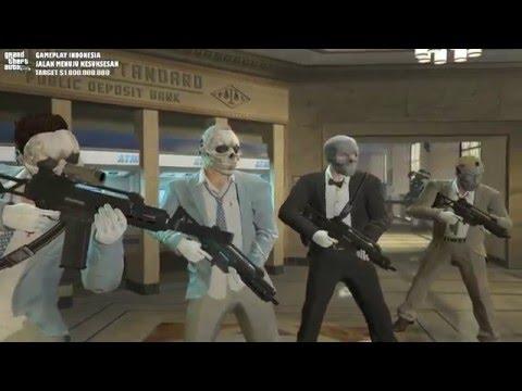 "GTA V Gameplay Indonesia   Jalan Menuju Kesuksesan ""Rampok Bank"""