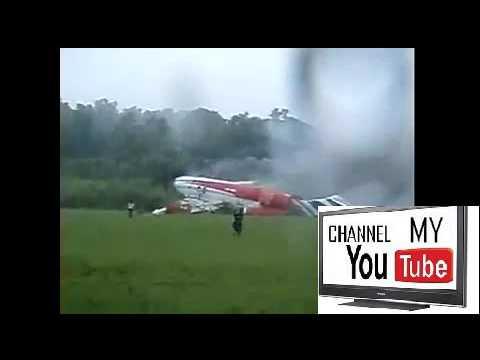 Thai Air Crash AMATEUR FOOTAGE ( plane crash Video ) | OMG Videos