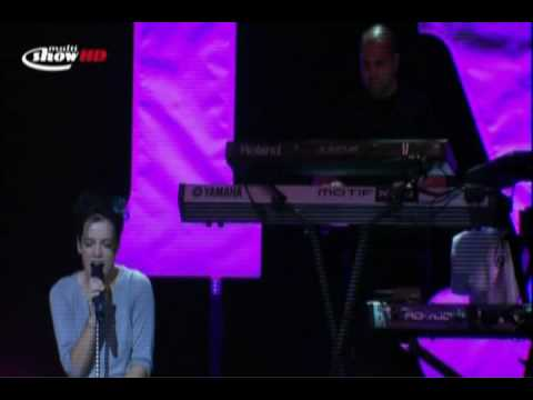 Lily Allen -  I Could Say - Live in São Paulo(Multishow)