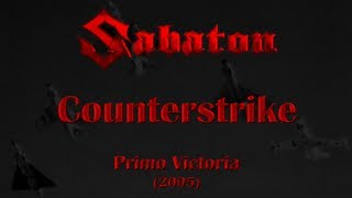 Sabaton - Counterstrike (Lyrics English & Deutsch)