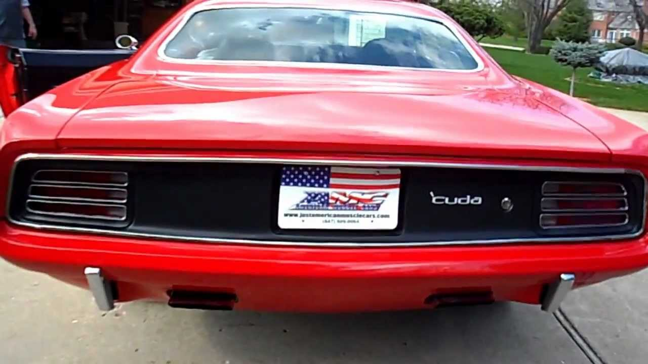 1970 Hemi Cuda 426 For Sale- American Muscle Cars-- Palatine, IL ...