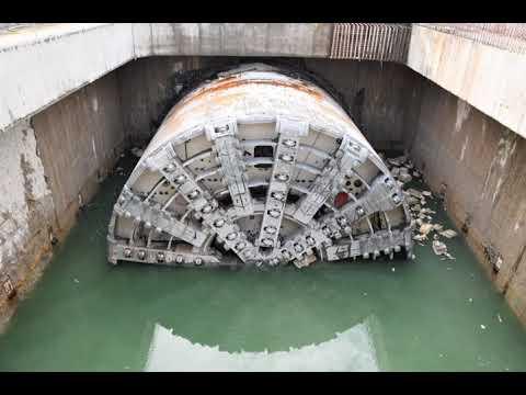Świnoujście - Tunel w Świnoujściu - Wyspiarska już na powierzchni