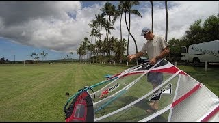 MauiSails TR-X race sail rigging guide