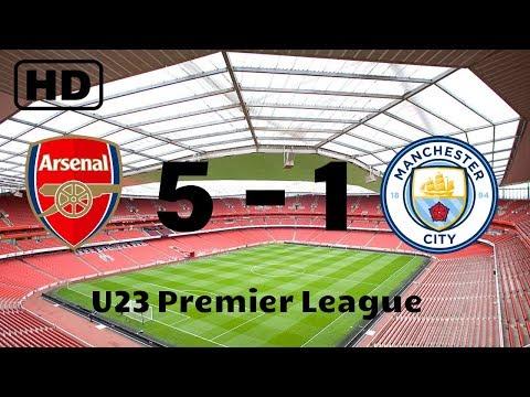 Arsenal 5-1 Manchester City | U23 Premier League