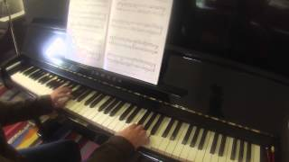 Gavotte in G Major HWV 491 by George Handel RCM Piano Repertoire Grade 3 2015 Celebration Series