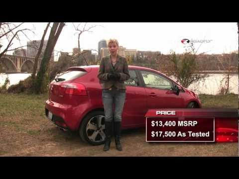 Kia Rio 5 Door SX 2012 Test Drive Car Review by RoadflyTV with Emme Hall