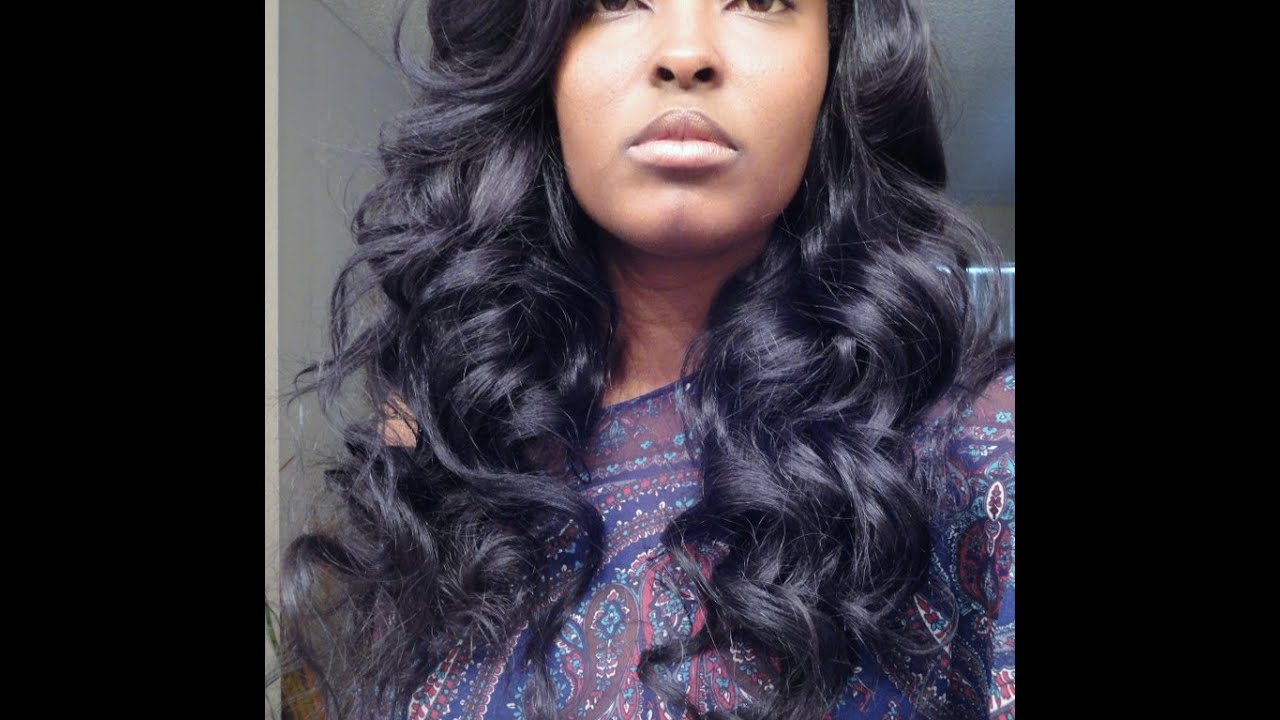 Get Some BIG CURLS In Your Hair Girl! Flexi Rods On My