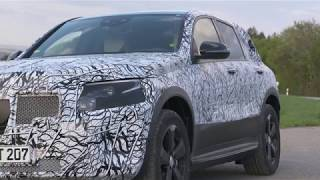2019 Mercedes-Benz EQC electric SUV: Black forest testing