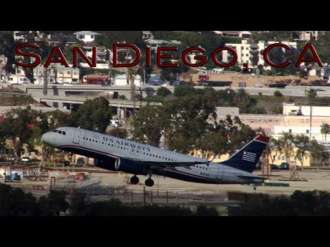 San Diego Afternoon Departures with ATC