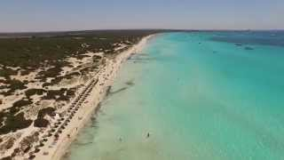 DJI Phantom 3 Mallorca flying Es Trenc