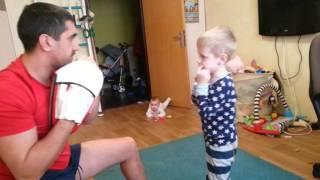 Тренировки по боксу (для детей)  до 4-5-6 лет.3