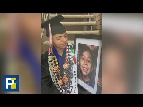 Una niña sacrificó su vida para salvar a un bebé de un tiroteo; 17 años después así le agradece él