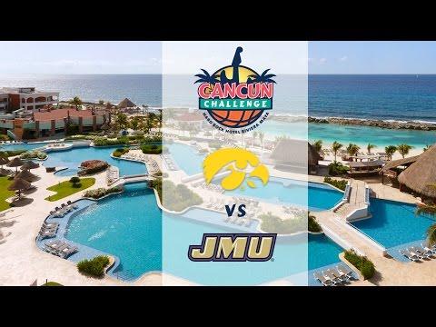 Cancun Challenge: Iowa vs James Madison - NO AUDIIO