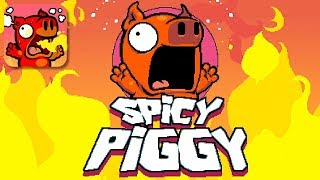 Spicy Piggy - Gameplay Trailer (iOS, Android)