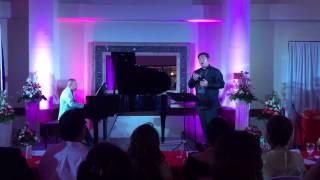 """""""Ang Tangi Kong Pag-ibig"""" Dennis Sugarol, baritone / Dr. Rey P. Roa, piano"""