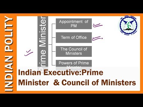 Prime Minister And Council Of Ministers : Indian Union Executive | Indian Polity | SSC CGL, UPSC