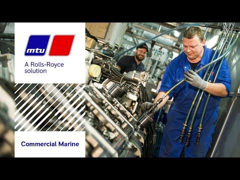 Overhaul of Series 8000 MTU engines on the Egyptian ferry Al Riyadh