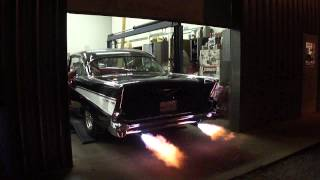 57 chevy flamethrowers exhaust systems plus benton ky