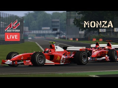 #9 Monza @ OSRW F1 2004 Cup - LIVE ONBOARD