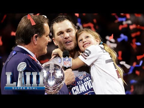 Super Bowl LIII Trophy Presentation